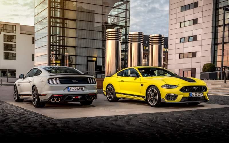 Mustang připravený na okruhy