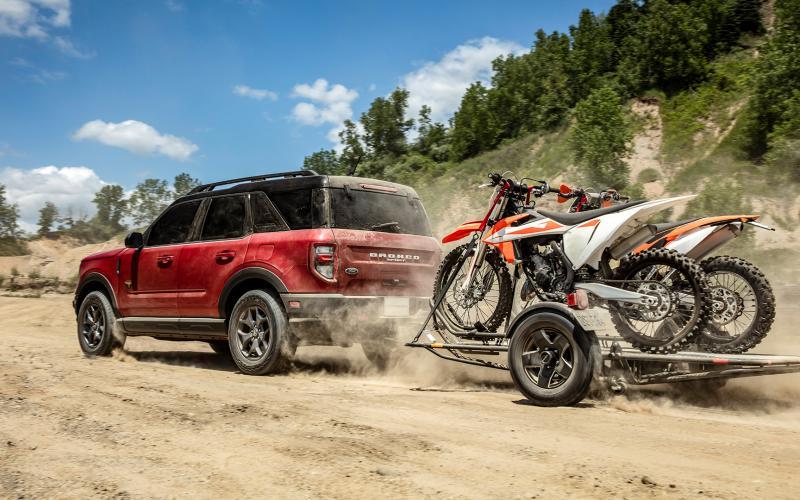 Drsný Ford Bronco - renesance amerického off-roadu