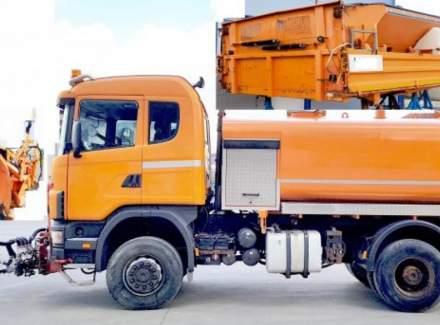 Scania - 4x4 6míst kropice2020